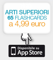 ARTI SUPERIORI 65 FLASHCARDS a 4,99 euro - Disponibile su App Store
